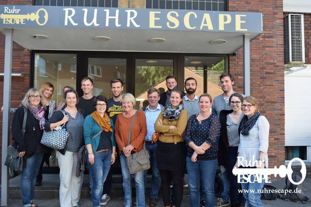 Teambuilding RuhrEscape
