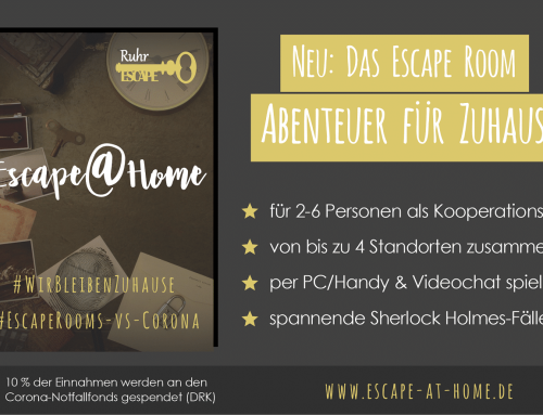 NEU: Escape@Home: Escape Room-Adventure gegen die Corona-Langeweile